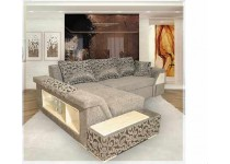 На фото Угловой диван  Лас-Вегас бриллиант
