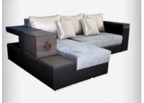 На фото Угловой диван Жасмин