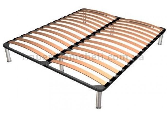 На фото Каркас кровати Viva Стил/Steel