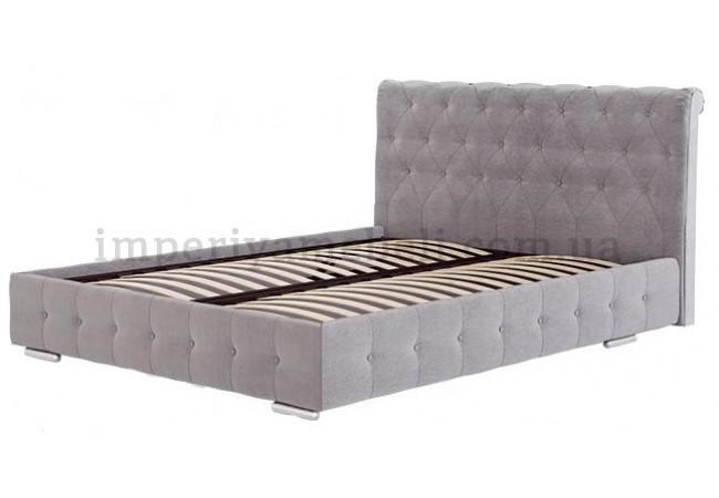 На фото Кровать мягкая