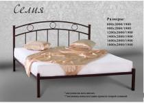 На фото Кровать металлическая Селия
