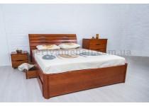 На фото Кровать Марита Lux с ящиками